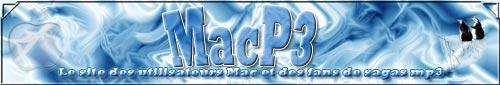 la bannière de MacP3.